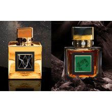 Perfume del hombre de la botella de perfume del vidrio del espray del cuerpo del precio de fábrica
