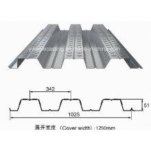Plancher galvanisé de plancher chaud de DIP (Yx 51-342-1025)