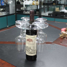 Hot sale clear acrylic wine holder
