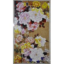 Fliesen Mosaik Bild Blumenmuster Mosaik Fliesen