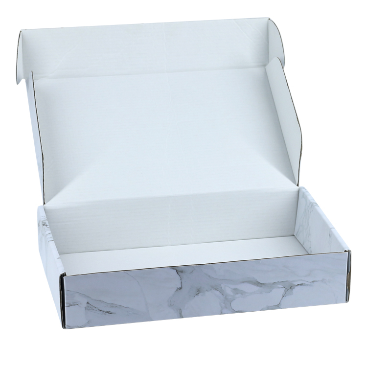 Custom Corrugated Packaging Mailer Box With Uv Logo