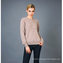 Lady's Fashion Cashmere Sweater 17brpv008