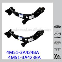 Pièces de suspension automatique Bras de commande inférieur avant pour Volvo Volvo 4M51-3A424BA