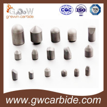 Bits de botão de broca de carboneto cimenteados com carvão, trocas de mineração