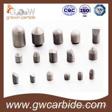 Botão de carboneto de tungstênio com matéria-prima