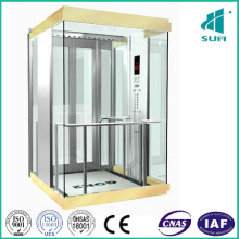 Hairline Stainless Steel Elevator in Sightseeing Elevator