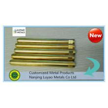 CNC Machining for Brass/Copper Bolt
