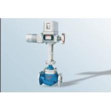 Mini type electric single seat control valve