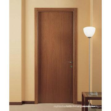 Portes d'intérieur en bois de chambre à faible coût