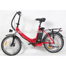 TOP E-cycle popular mini plegable bicicleta eléctrica de china