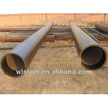 astm a53 a106 api 5l large diameter welded steel pipe stockist tube