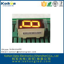 High brightness one digit various color and size LED seven segment display