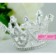 Ano novo vestido de natal personalizado princesa tiara de casamento