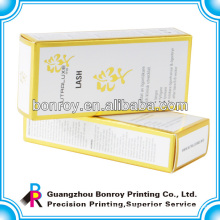 Factory printed paper perfume packaging box