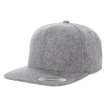 Black Flat Brim Snapback Caps Top Quality