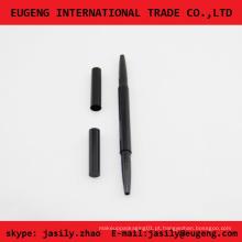 Plástico eyeliner caneta com duas vendas lado quente