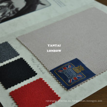 sarga de caballería tela de lana con superficie lisa para la ropa