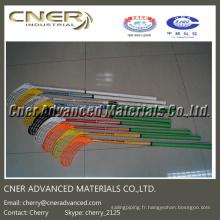 Bâton de hockey en composite de fibres de carbone 3k / composite haute résistance Skype: cherry_2125 / WhatsApp (Mobile): + 86-13001506995