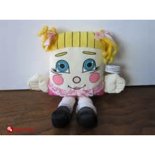 custom promotional lovely pillow people plush toy