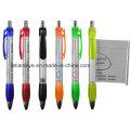 Promoción regalo Banner pluma 4 Color estampado para publicidad (LT-C618)