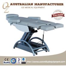 Cama elétrica da clínica médica do sofá do exame da tabela do tratamento osteopático