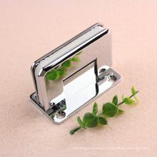 Full back plate 25 degree Self-centering brass shower door hinge