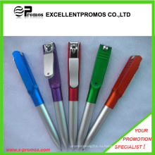 Рекламные дешевые пластиковые ручки с клипсой для ногтей (EP-P141024)