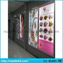 Publicidad Caja de luz de letrero de pantalla digital