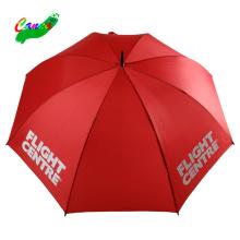 carbon fiber golf clubs red colour golf umbrella with printing