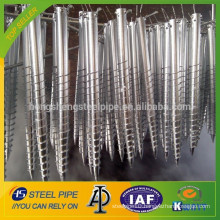 Hot Dipped Galv. Steel Ground Screw Post