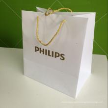 PP saco de plástico polipropileno com logotipo de impressão (branding claro saco)