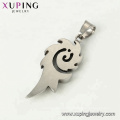 33534 xuping Simple design fashion Stainless Steel jewelry black gun color cool   pendant