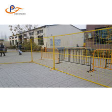 Iso9001 Hot- Dipped Galvanized Flat Feet Temporary Fences
