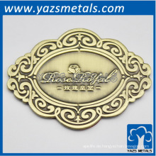 maßgeschneiderte Metall Messing roseroyal Platte