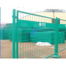 PVC-beschichtete temporäre Zäune mit Eisenfüßen (TS-L31)