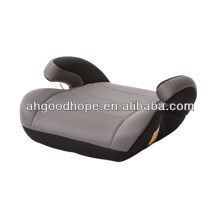grey car booster seat