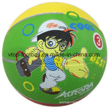 Three Color Toy Rubber Basketball