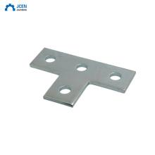 Custom stainless steel metal bed connector flat brackets