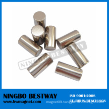 N48 D20X10mm W/Ni Coating NdFeB Cylinder Magnets