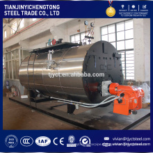 new technology 4 ton steam coal fired boiler for pasteurizer made in China