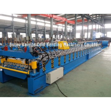 Trapezoid Roofing Sheet Cold Rolling Forming Machine