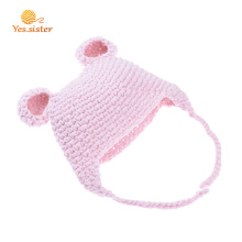 100% Acrylic Baby Crochet Super Soft Beanie Hat