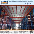 Estante del almacenaje mezzanine piso plancha de metal