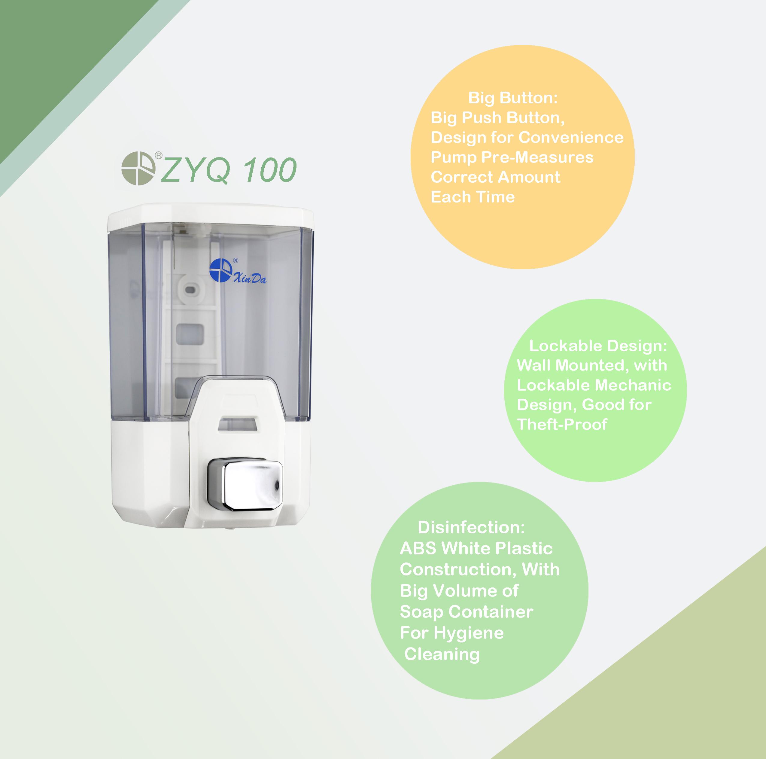 Infrared automatic sensor soap dispenser