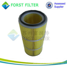 Filtro de Cartucho de Aire Cilíndrico de Filtración de Polvo de Alta Eficiencia FORST