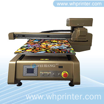 Digital UV Flatbed Printer on Buttons