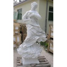 Escultura de mármol tallada antigua estatua tallada piedra con arenisca de granito (SY-X1546)