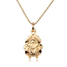 Pendente animal da liga de cobre ambiental da jóia de 30883 Xuping com o ouro chapeado