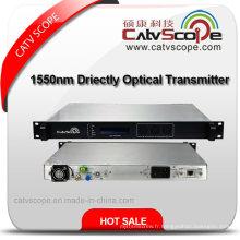 Transmetteur optique à modulation directe haute performance / 1550nm Modulation directe Transmetteur optique CATV