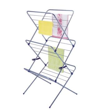 Folding X-Frame Clothes Drying Rack